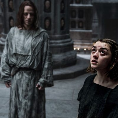 Arya and Jaqen